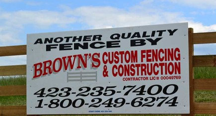 Brown's Custom Fencing And Construction